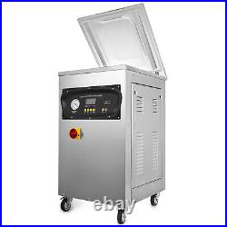 DZ-400S Automatic Packing Vacuum Sealing Machine 1000W Storage Commercial 20m³/H