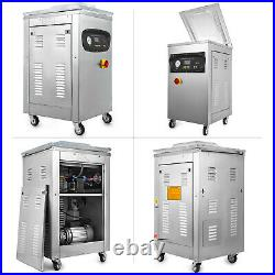 DZ-400S Automatic Vacuum Packing Sealing Machine 1000W Storage Commercial Meat