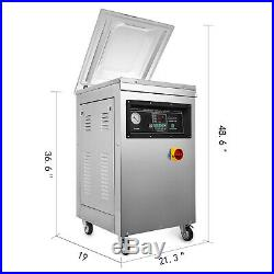 DZ-400T Automatic Packing Vacuum Sealing Machine Package Strong Chamber Sealer
