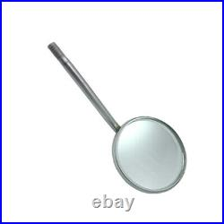 Dental Mouth Mirror Rhodium # 5 Diagnostic Teeth Inspection Mirrors Pack Of 100