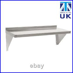 Displaypro Stainless Steel Shelves for Commercial Kitchens (Pack of 2)