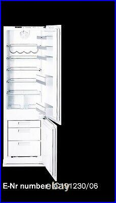 Double Gaggenau IC-191230 Fridge & Freezer With Stainless Steel Pack