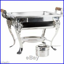 FedEx 4 PACK CATERING Classic CHAFER CHAFING Dish Sets 4 QT PARTY PACK w REBATE
