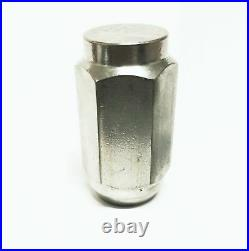 Fifty (50) Pack Solid 304 Stainless Steel 1/2-20 Lug Nuts For Trailer Wheel Rim
