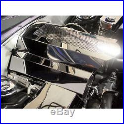 Fuel Rail/Coil Pack Covers for 2009-2015 Charger/300 Stainless/Polished