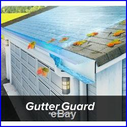 GUTTER GUARD 10 Pack 4 feet Stainless Steel Roof Protect Cover Leaf Rain Filter