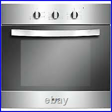 Gradedbush Electric Built In Oven With Gas Hob Pack Lsbghp Stainless Steel