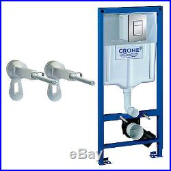 Grohe Rapid SL 1.13m Wall Hung Toilet WC Concealed Cistern Frame Pack 38772001