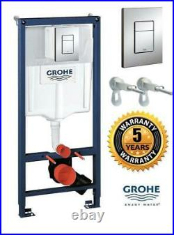 Grohe Rapid SL 38772001 Toilet frame 3 In1 Pack Concealed Cistern Button 1.13m