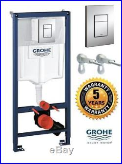 Grohe Rapid SL 38772001 Toilet frame 3 In1 Pack WC Cistern, Frame Button 1.13m