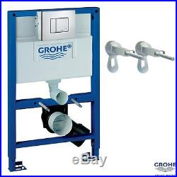 Grohe Rapid SL 82 Wall Hung Toilet WC Concealed Cistern Frame Pack 38773000