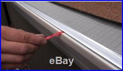 Gutter Guard 4 Ft. Stainless Steel 5 In. Micro Mesh Gutter Guard 20 Pack Guards