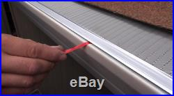 Gutter Guard 4 ft Stainless Steel 5 In. Micro Mesh Home Commercial 10 Pack 40 ft