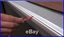 Gutter Guard Protection 4 ft. 5 in. Micro-Mesh Stainless Steel (20-Pack)