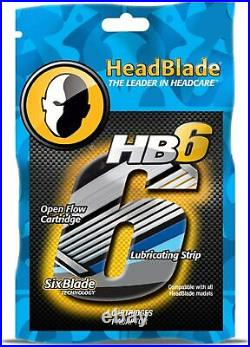 HeadBlade HB6 Replacement Blades Kit Pack Of 4