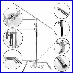 Heavy Duty Professional C-Stand Century Photo Video Stainless Steel Pack of 2