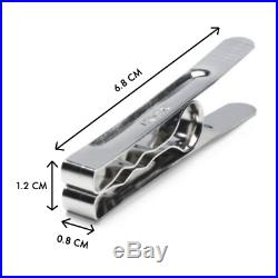 High Grade Stainless Steel Clothes Pegs Rust Free Unbreakable Windproof Pins