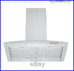 Hob Hood Pack Solid Plate Electric Hob 60cm Stainless Steel Chimney Cooker Hood
