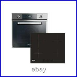 Hoover HPRCE60SS Multifunction Electric Oven & Ceramic Hob Pack