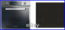 Hoover HPRCE60SS Multifunction Oven and Ceramic Hob Pack