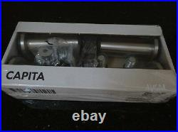 IKEA CAPITA x8 Legs (small) stainless steel leg pack for METOD BRAND NEW