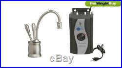 Insinkerator F-HC2215BR Instant Hot & Filtered Cold Water Tap & 3573 Tank Pack