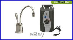 Insinkerator Tuscan F-GN2215BR Instant Boiling Hot Water Tap & 3573 Tank Pack