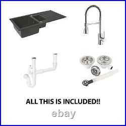 Kitchen sink and tap Starter pack
