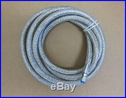 Lowrider Hydraulics stainless steel braided 3/8 hose, 15ft, two pack