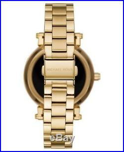 Michael Kors Sofie Pave Gold Tone Touchscreen Smart Watch MKT5023 Sealed pack