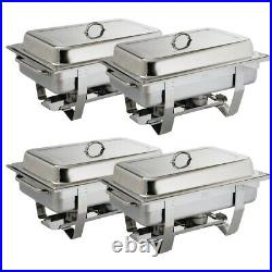 Milan Chafing Set Four (Pack of 4) S299