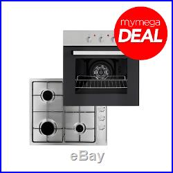 MyAppliances REF30520 Electric Oven And Stainless Steel Gas Hob Pack