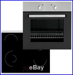 MyAppliances REF50537 Electric Static 65L Oven And Ceramic Hob Pack