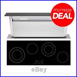 MyAppliances REF50701 Ceramic Hob and Downdraft Hood Pack