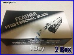 NEW Feather Artist Club Professional blade PB-20 20 packs 400 blades from Japan