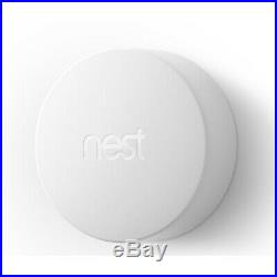 Nest Learning Thermostat (3rd Gen, Stainless Steel) with Temperature Sensor 3-Pack