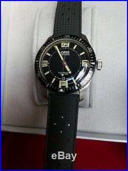 Oris Divers Sixty Five Watch Immaculate Condition With Box And Manual Pack