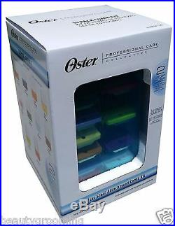Oster Stainless Steel Universal Comb Attachment 10 Pack 78936-100 Storage Case
