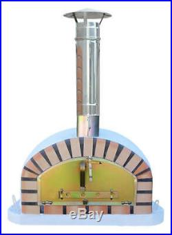 Outdoor Brick Wood Fired Pizza Oven 100cm Italian Package