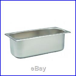 PACK of 50 Stainless Steel 5 Litre Ice Cream Napoli Pans Container