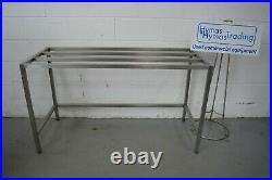 Packing table stainless steel 146cm x 60cm x 84cm high (16cm gap) FREE DELIVERY