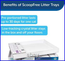 PetSafe ScoopFree Tray Refills Cat Litter Box Self-Cleaning 2/3/6 Pack OR Trays