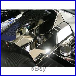 Polished Stainless Steel Fuel Rail/Coil Pack Covers for 2009-2015 Charger/300