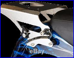 Pro Pad Polished Quick Detach Tour Pack Rack Mount 09-13 Harley Touring FLHX