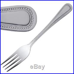Professional Catering Bead Cutlery Pattern 18/0 Stainless Steel 48 Piece