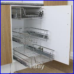 Pull Out Kitchen Storage Baskets Rack Kitchen Slide Out Cabinet Soft Closing