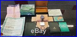 Rolex 116613LB Submariner HUGE collector's pack included cheap