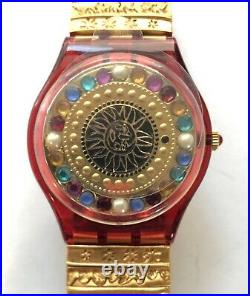 SWATCH Christian Lacroix GZ140PACK 1994 by XIAN LAX Christmas Special Watch New