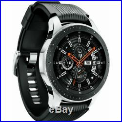 Samsung Galaxy Watch Smartwatch 46mm Stainless Steel with Protection Plan Pack