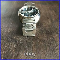 Seiko 7019-7210 5 Actus Automatic 21j New Glass Belt Replacement Packing